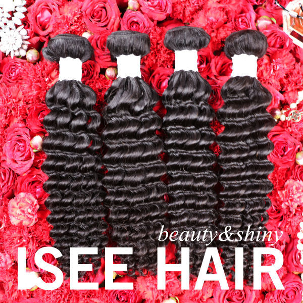 On sale 6A brazilian deep wave virgin hair brazilian virgin hair deep wave brazilian hair weave bundles brazillian deep wave