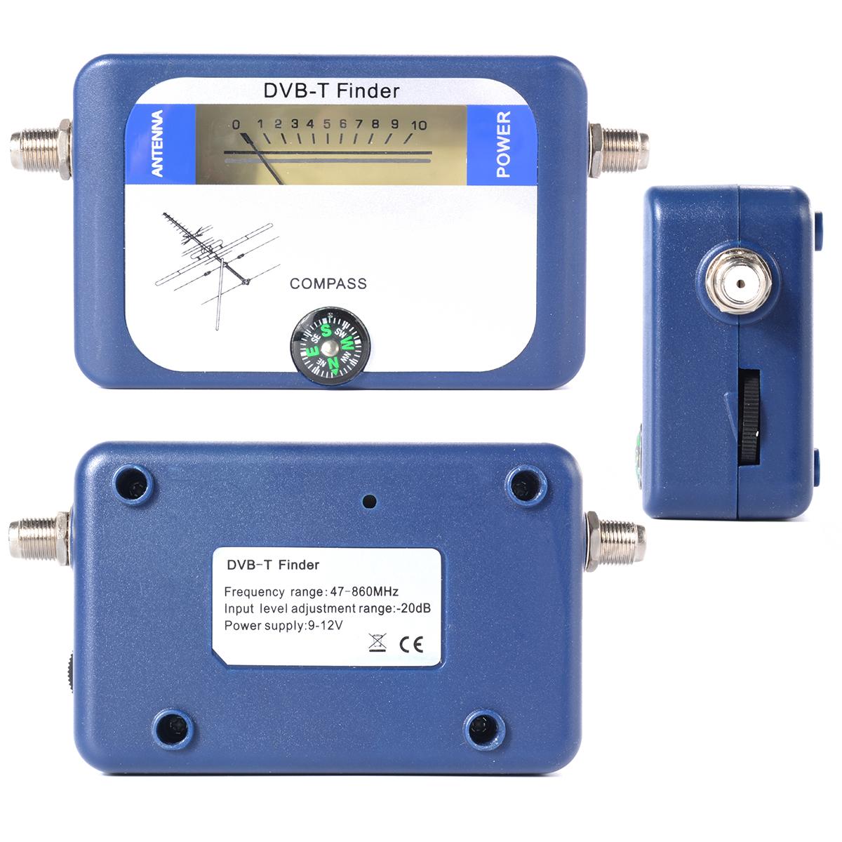 DVB-T satellite receiver Finder Meter LCD Display TV Signal Finder Aerial Terrestrial Signal Strength Meter BI018(China (Mainland))