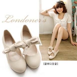2015 spring belt bow round toe low-heeled doll princess single shoes cos lourie single shoes womens shoes<br><br>Aliexpress