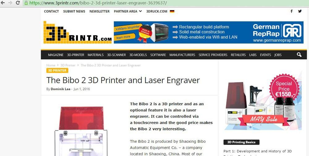 BIBO 3printr