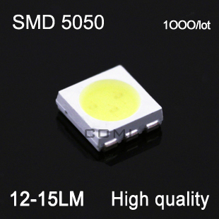 wholesale ultra bright high quality led smd 5050 12-15lm 0.18w smd leds white warm white for led light string par light celling#<br><br>Aliexpress