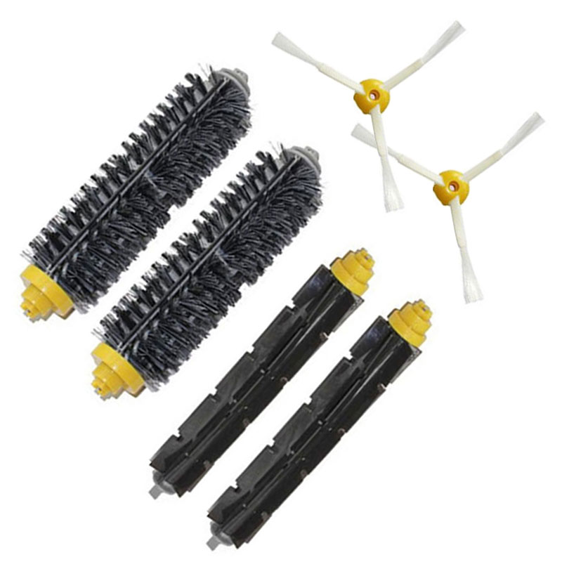 Replacement For iRobot Roomba 500 600 700 Series brush kit side 760 560 585 595 650 770 780 550 790 free shipping(China (Mainland))