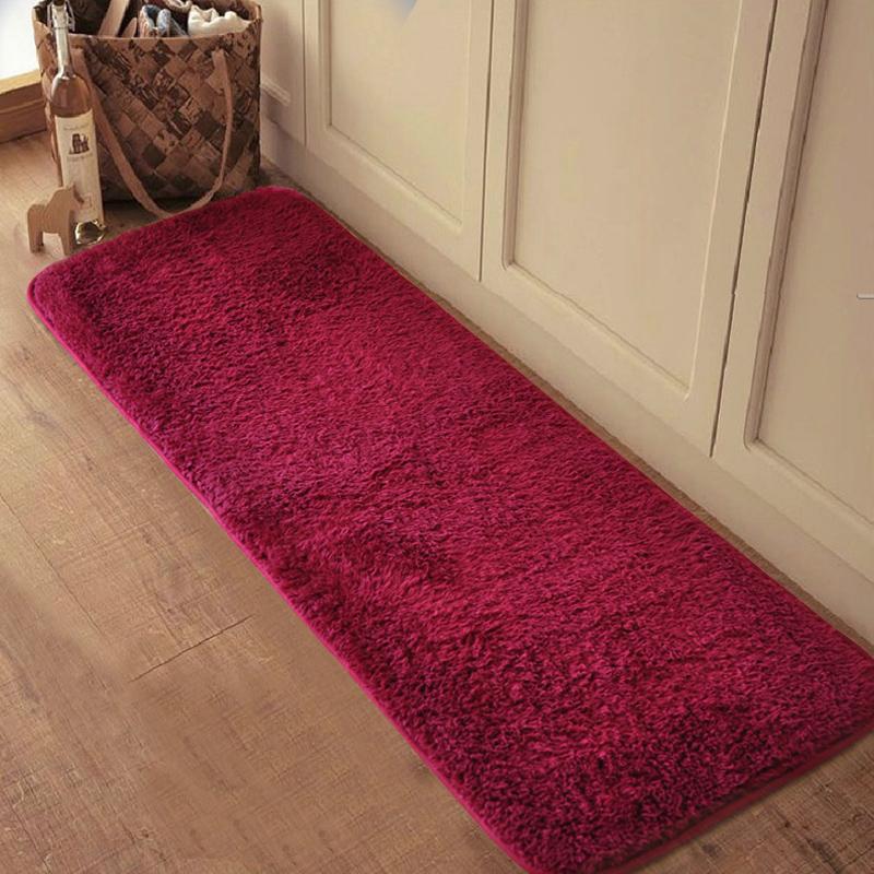 Buy silk plush carpets super soft machine - Look buying perfect doormat ...
