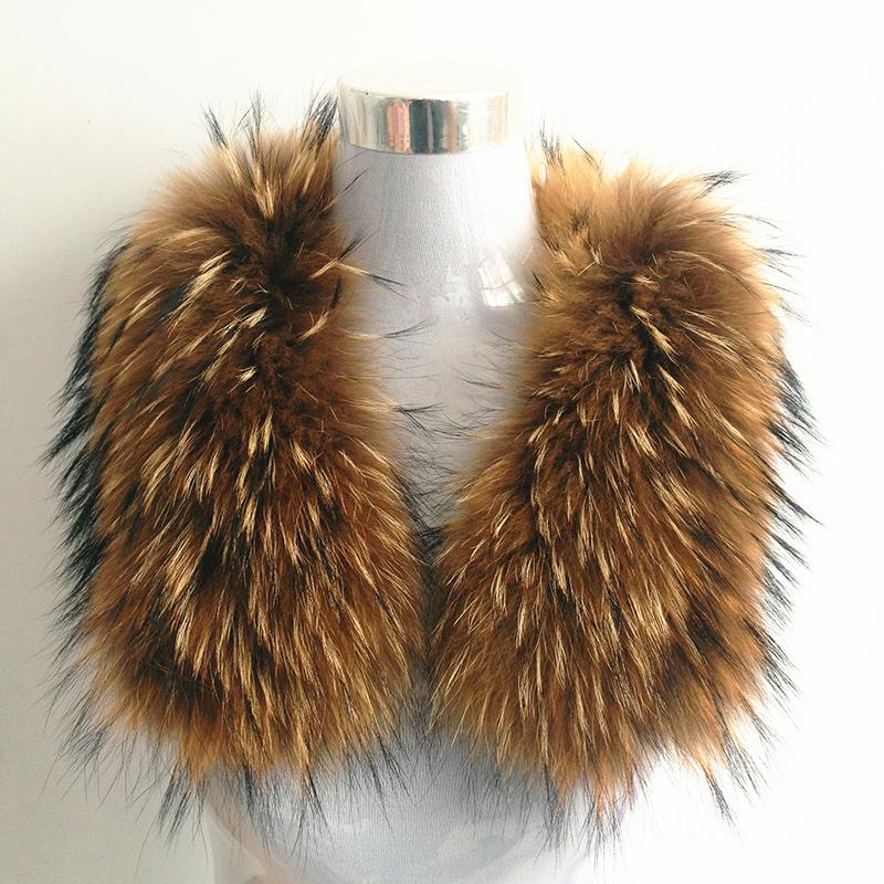 100% Natural Genuine Raccoon Fur Collar Shawl Women Shrug Winter Fashion Integral SkinScarf Warm Real Fur Shawl Wrap Stole Cape(China (Mainland))