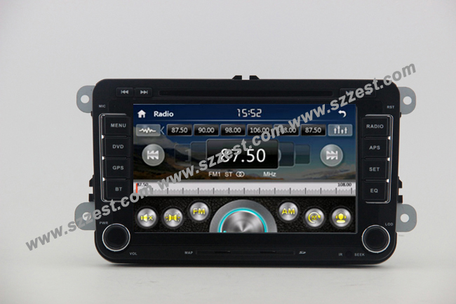 Free Shipping!! ZESTECH Touch screen Car Dvd Gps Navigation Audio Radio auto parts dvd player for VW Skoda Part Version(China (Mainland))