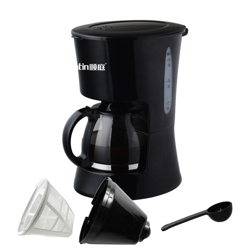 EC DAILY automatic coffee machine home coffee makers can make tea machine insulation anti-drip FREE SHIPPING(China (Mainland))