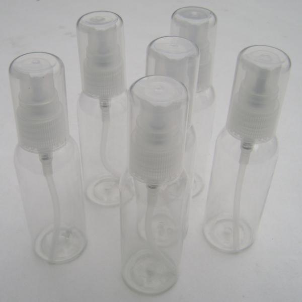 High-grade 50ml Plastic Lotion Bottle Transparent PET Soap Dispenser Cream Bottle with Spray Pump Clear Cap<br><br>Aliexpress