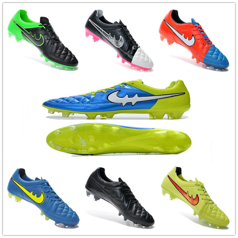 new fashion hot outdoor training soccer shoes mens football boots 2015 brand breathable soccer cleats sports football shoes(China (Mainland))