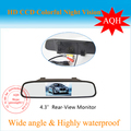 Free shipping NEW 4 3 inch TFT Car LCD Mirror Rear View Rearview DVD Mirror Monitor