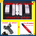 chassis armor protection crash protection suit bottom Rise head wheel stand up wheel and shock cover