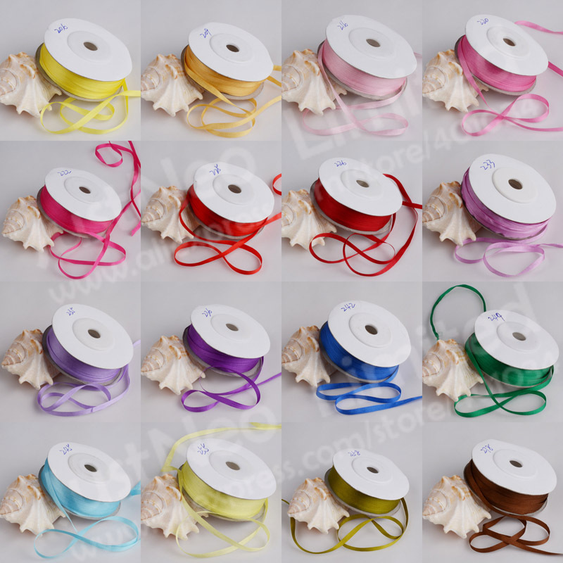 10m/roll, 4mm width,100% real pure silk woven double face taffeta silk ribbons for embroidery and handcraft project,gift packing(China (Mainland))