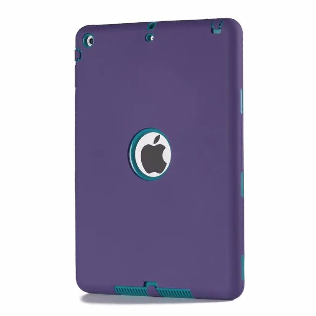 NEW For Apple ipad 5/ipad air 1 case Amor Heavy Shockproof cover Drop resistance tablet Case free Screen protector film+stylus