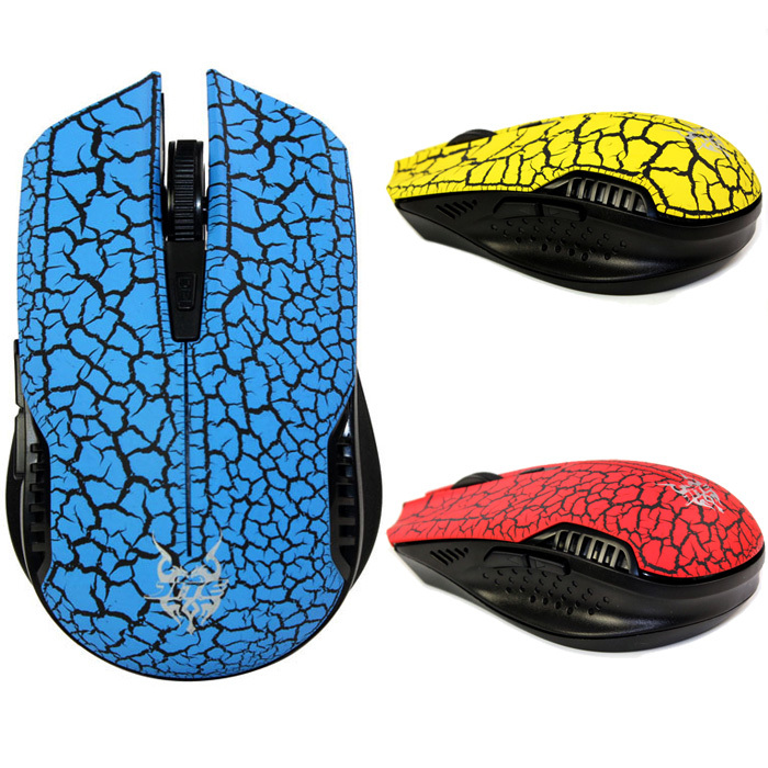 New 2.4GHz Wireless Silent Noiseless Gaming Mouse Mice With Nano USB Receiver Low Price(China (Mainland))
