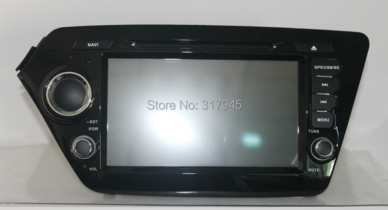 Dual Core 1.6GHZ 8 Inch Android4.4.4 HD Car DVD Player For Kia K2/Rio 2012-