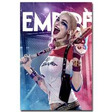 Harley Quinn - Suicide Squad Art Silk Poster Canvas Print 13x20 24x36 inch New Movie Minimalist Pictures for Home Wall Decor (China (Mainland))
