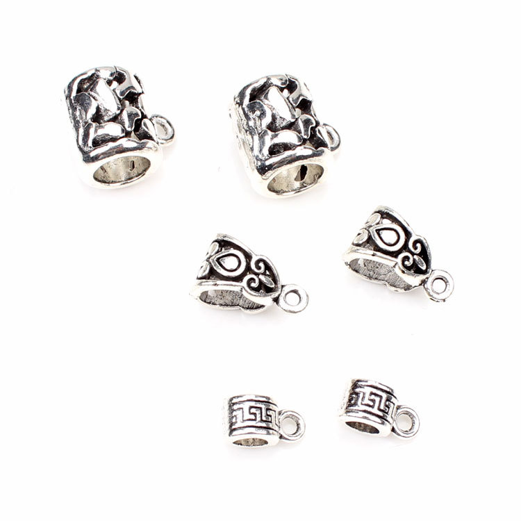 Buy 20pcs lot zinc alloy antique silver for Jewelry making supply store