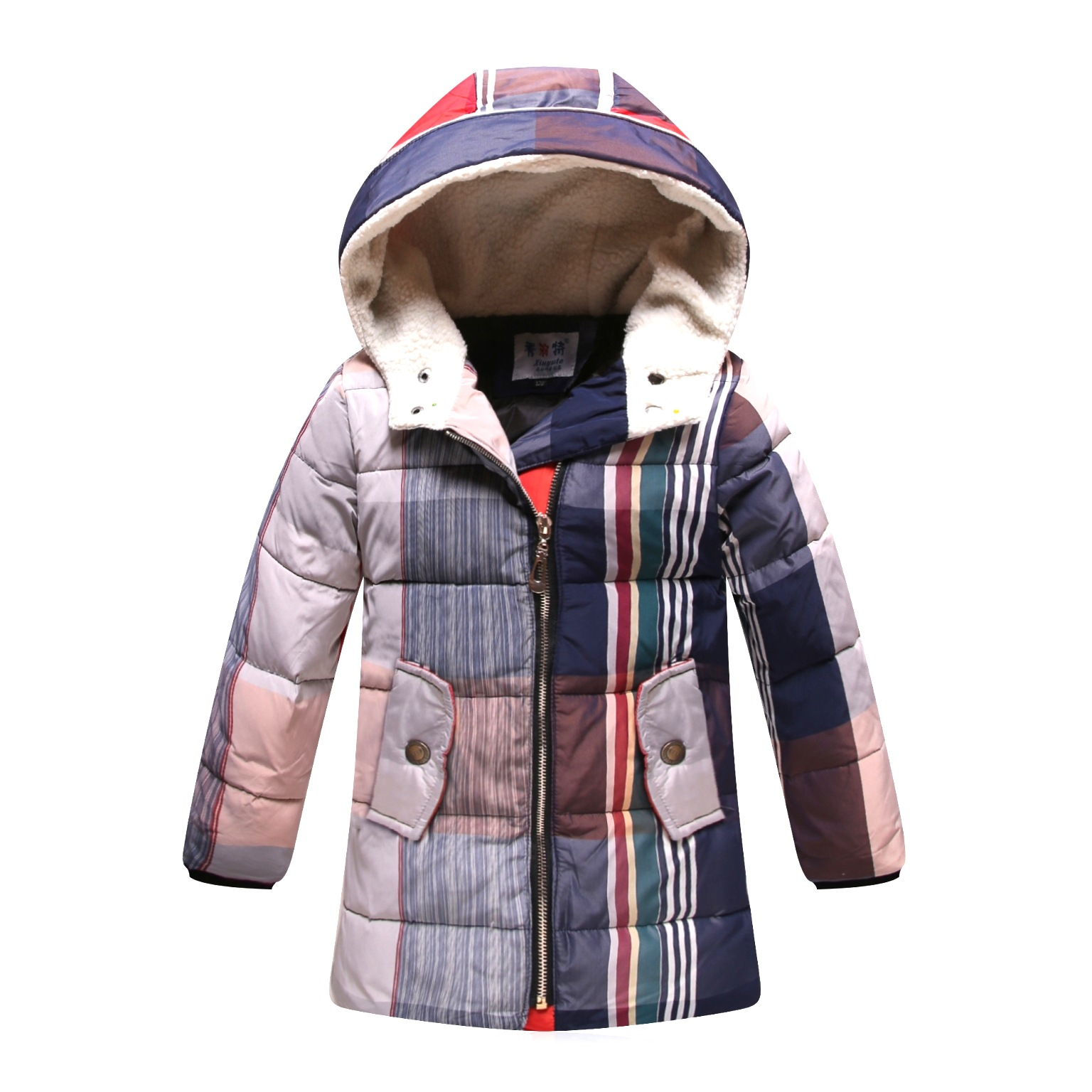 New Childrenu0026#39;s Jackets 2015 Boys Winter Jacket Thick Hooded Parkas Warm Boys Winter Coat Down ...
