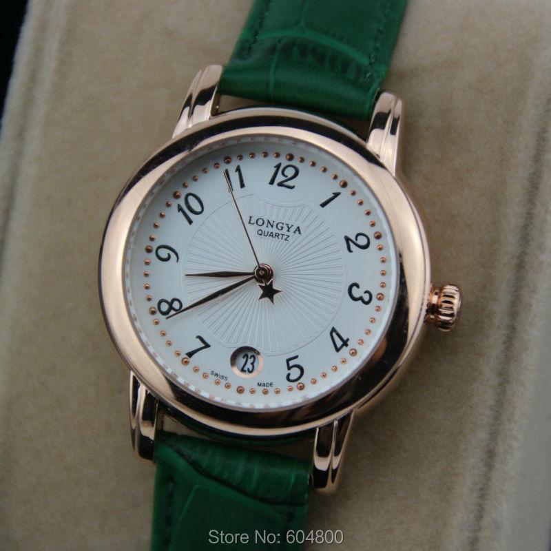 30M Waterpfoor Luxury Brand Women Watch With Logo Genuine Leather Rose Gold Women Dress Watches Relojes Mujer <br><br>Aliexpress