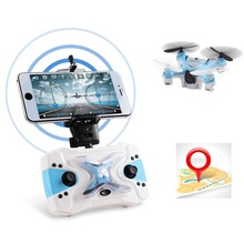 Micro RC Quadcopter Camera Remote Control Pocket Drone aircraft Mini Helicopter Realtime transmission Gyro Switchable Controller