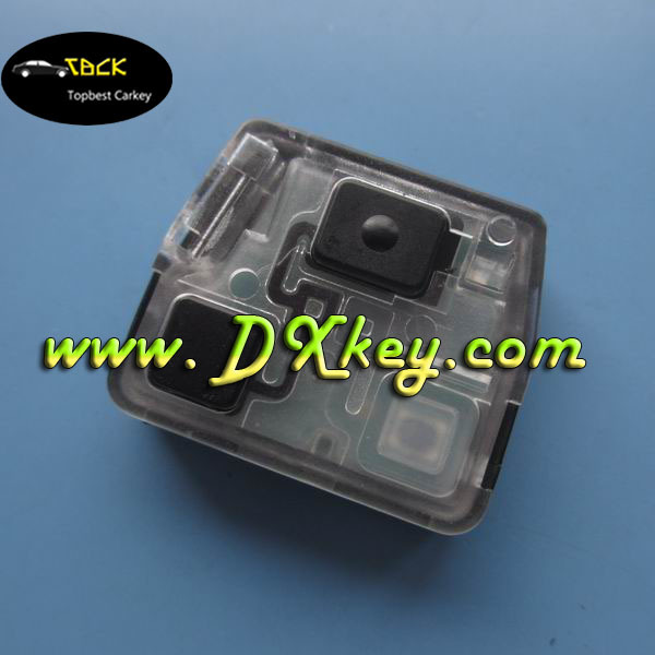 Excellent quality 2 button 433Mhz remote key circuit board for land cruiser toyota prado remote key(China (Mainland))