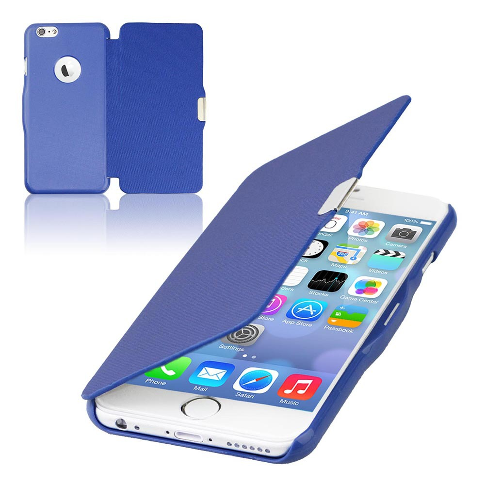 New Material Ultra Thin Slim Magnetic PU Leather Flip Hard Case Cover Protect For iPhone 4 4S 4G Full Phone Shell Skin YXF04255(China (Mainland))