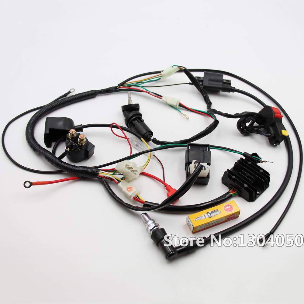 solenoid wiring harness 150cc go kart hammerhead go kart