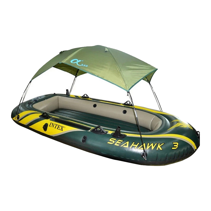 Seahawk Inflatable Boat Tent Sun Shelter Person Rubber Intex Fishing Boat Tent Sun Canopy (No Boat)(China (Mainland))