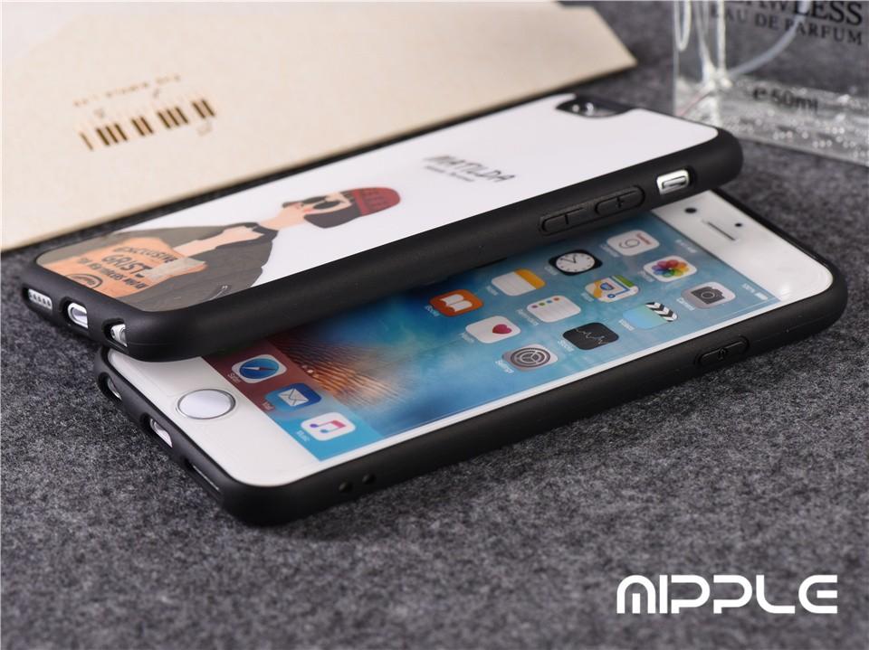 Classic Movies Leon  Conque de Cellphone Leon Mathilda Lover Cover For iPhone 6 6s 6 Plus 5S SE Black Fundas Case