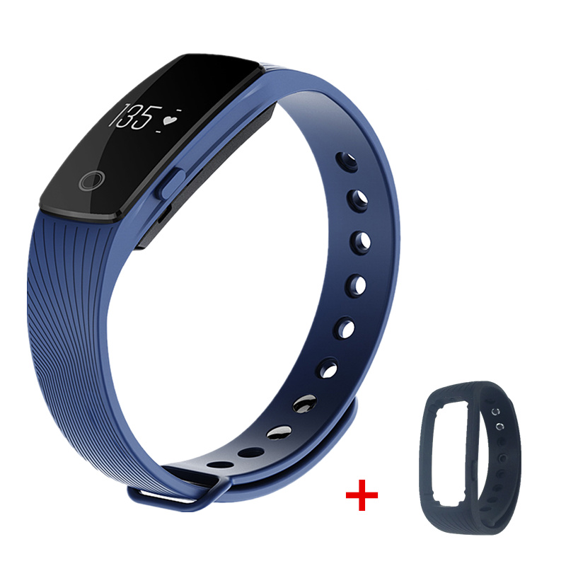 ID107 Bluetooth 4.0 Smart band bracelet & Heart Rate Monitor Activity fitness Tracker Wristband for IOS & Android smartphone(China (Mainland))