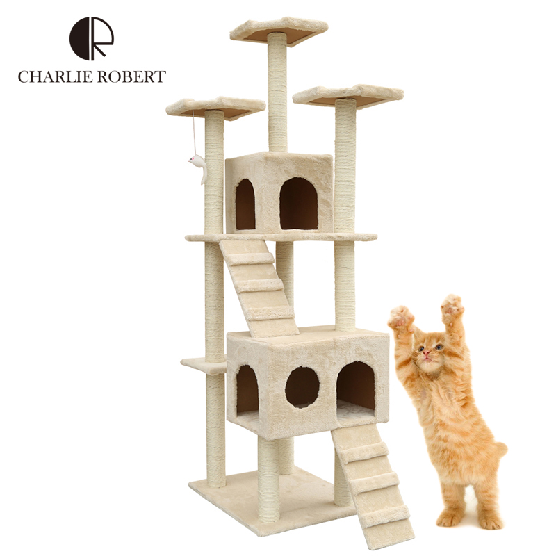 Cats Scratchers New 2016 Brand Cats Wood Furnitures Product Domestic Delivery Scratchers HP905 Ship With FEDEX & 2-7Days(China (Mainland))