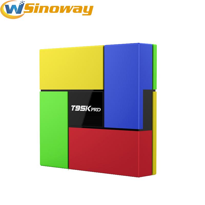 T95K PRO S912 Android 6.0 TV box Octa Core cortex-A53 KODI Dual Band WIFI Bluetooth4.0 UHD 4K H.265 VP9 HDR T95KPRO Media Player(China (Mainland))