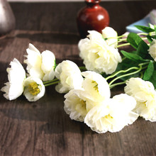 Artificial  silk poppies flowers Silk Poppy flower  for Home decoration High 50cm 7pcs/lot(China (Mainland))