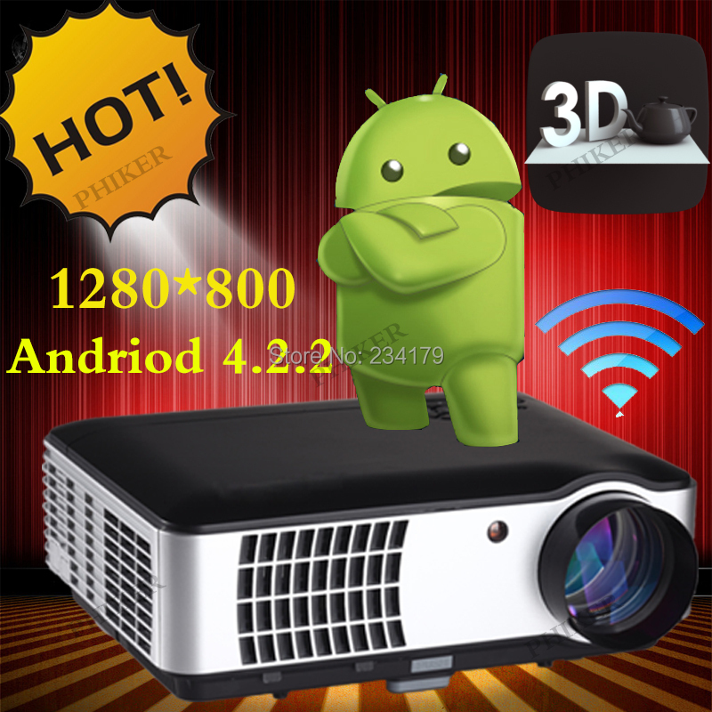 Best 200inches 1280*800 1080P 3D Game Video LCD Cinema Digital HDMI USB TV LED HD Projector For Home Theater PS3 Xbox Wii(China (Mainland))