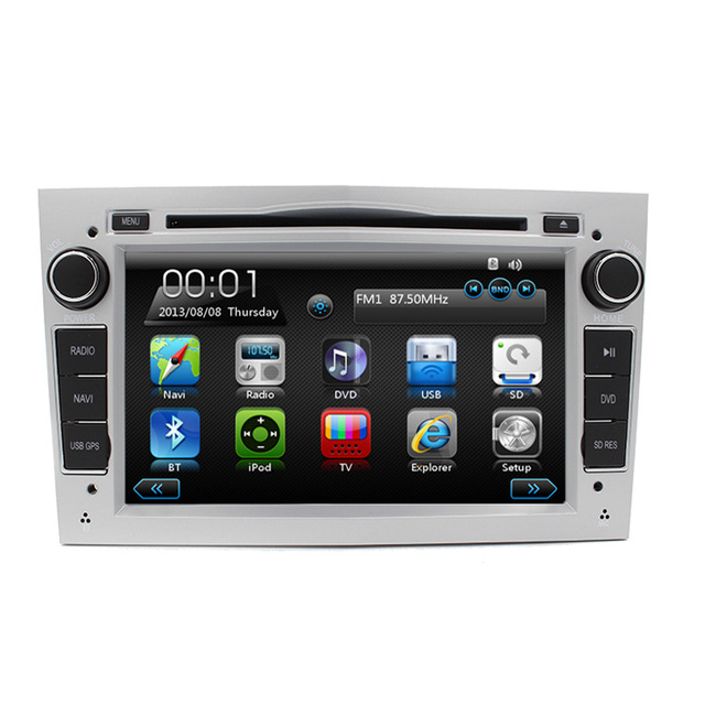 "Free Shipping 7"" Car DVD Multimedia GPS Navigation For Opel Vauxhall with Can Bus 3G WiFi Bluetooth 8GB Free map RDS Radio 1080P(China (Mainland))"
