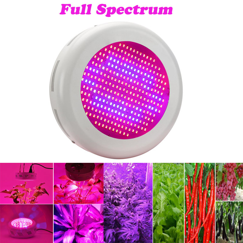Full Spectrum UFO Led Grow Light 130W/300W Hydroponics Lamps AC85-265V SMD5730/5630 Red+Blue+IR+UV For Flowering Plant Veg(China (Mainland))