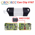 Full Chip For Renault Can Clip V167 OBD2 Diagnostic Tool With 15 Languages Can Clip For