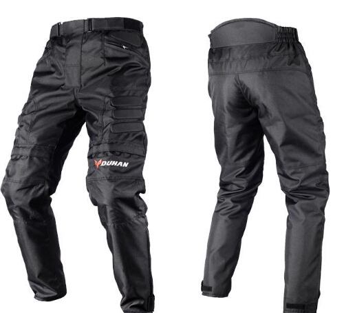 Men's Motocross Windproof Sports Pants Knee Protector Guards Racing Oxford Cloth Riding Motocycle Trousers