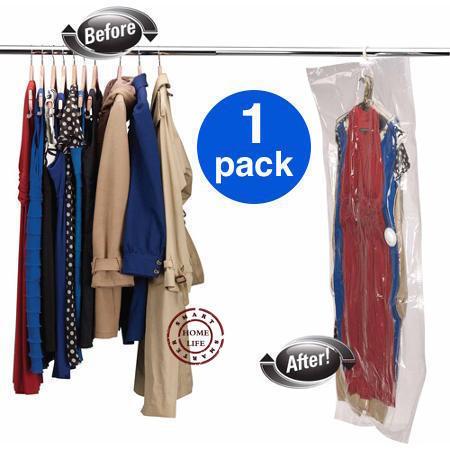 1 piece with free shipping | 90x60, 110x60, 105x70, 145x70 | Vacuum bag with hanger | hanging storage bag | space saving bag(China (Mainland))