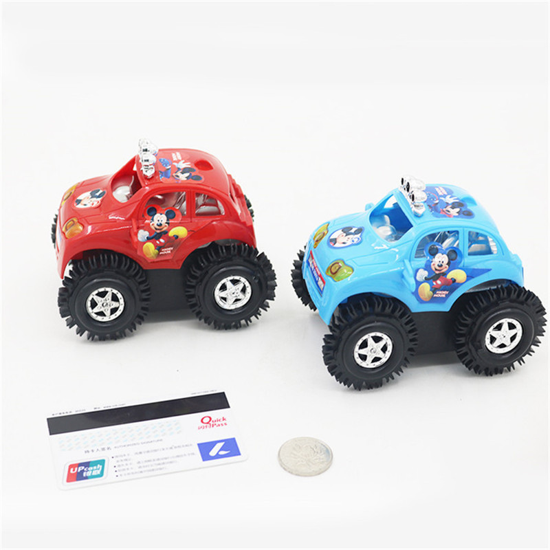 The latest goods baby toy electric vehicle quick dump truck toy boy toy car dumpers Mickey child car toy gift X89(China (Mainland))