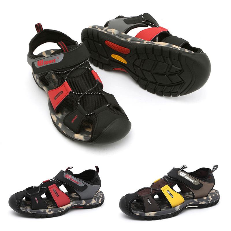 new fisnmen sandals upstream no slip close toe waterproof water sport sandals men