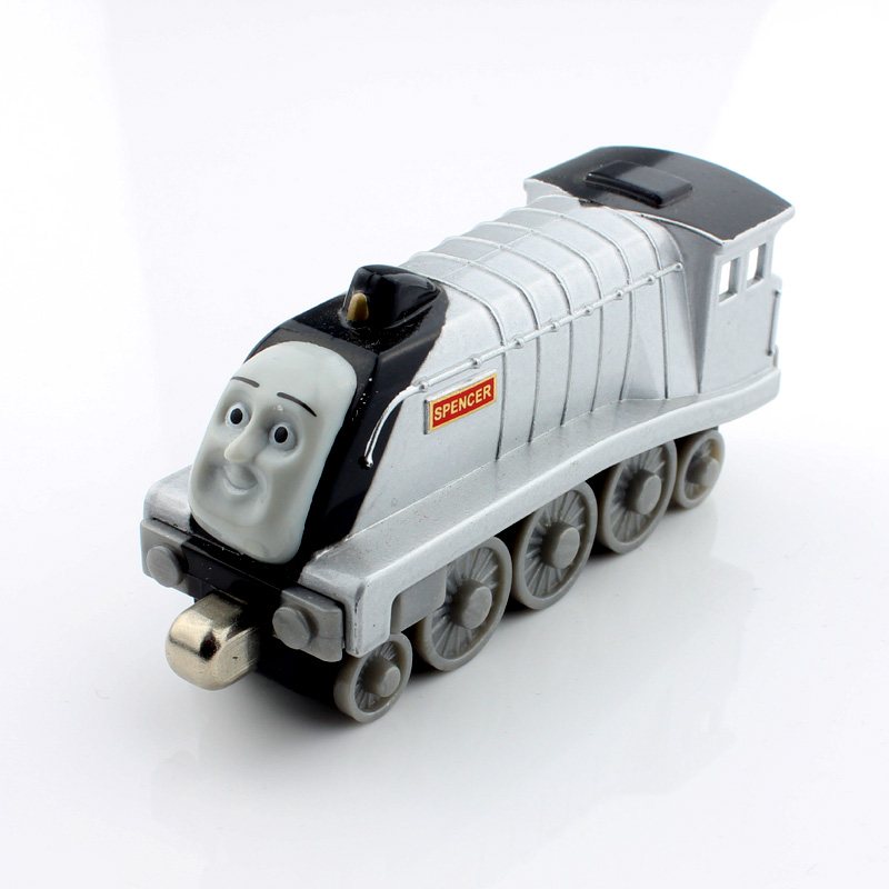 SPENCER Children thomas and friends trackmaster magnetic tomas diecast model alloy metal anime trains engine models kids toys(China (Mainland))