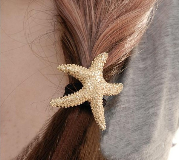 Exquisite fashion hair accessory gold headband metal quality hair rope tousheng(China (Mainland))