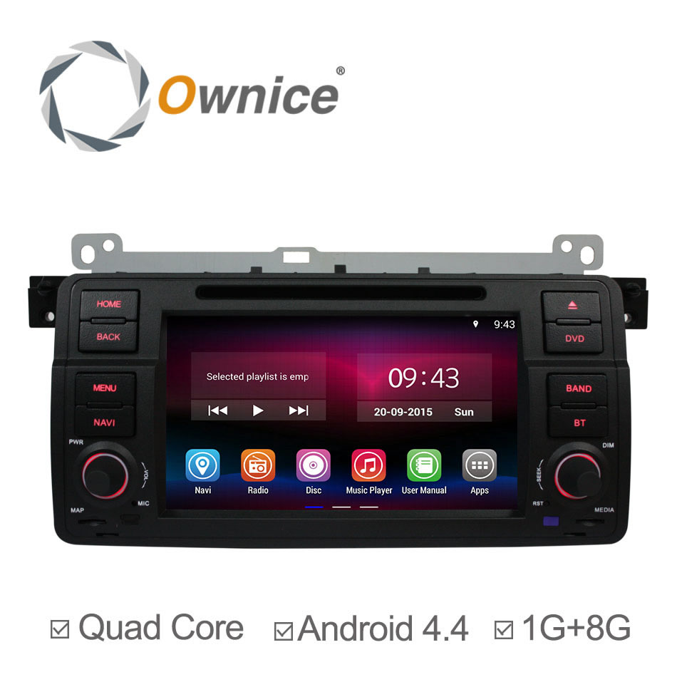 Quad Core Android 4.4 Head Unit Car GPS Navigation DVD Multimedia Player for BMW E46 3 M3 1998-2006 MG ZT Rover 75 Support DVR(China (Mainland))