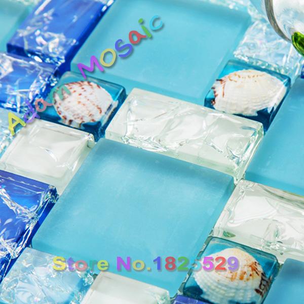 Online kopen wholesale ocean glas tegel uit china ocean glas tegel groothandel - Deco mozaieken badkamer ...