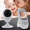 Hot baba electronics video nanny IR Night vision Lullaby Temperature monitor 2 way talk 2 4