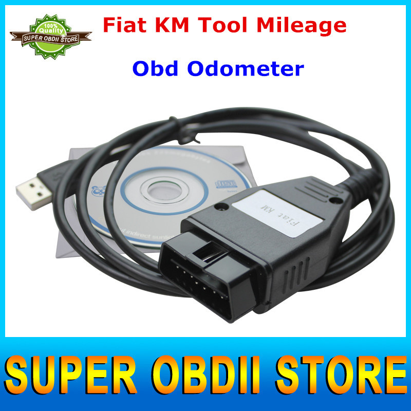 2015 Aliexpress Recommanded High Quality Fiat KM Tool Mileage Correction Tool Fiat Usb Scan Tool OBD Odometer Free Shipping(China (Mainland))