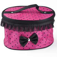 Cosmetic Bags Women Travel Makeup Bag Box Organizer Pouch Clutch Handbag(China (Mainland))