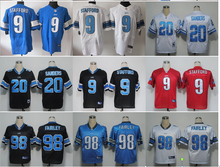 NO-1 2016 Best Quality,Detroit Lions Stafford Golden Tate Ameer Abdullah Johnso Eric Ebron Gabe Wright Taylor ALL players(China (Mainland))