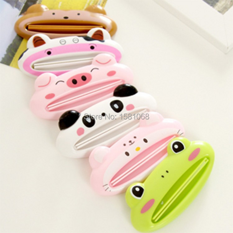Free shipping 1pcs Cute Animal multifunction squeezer / toothpaste squeezer Home Commodity(China (Mainland))