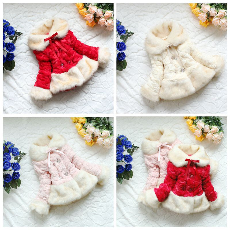 High Quality New Winter Classic Fashion Childrens Wool Outerwear Girls Coats Kids Thick Fox Warm Leopard Print Fleece Jacket<br><br>Aliexpress